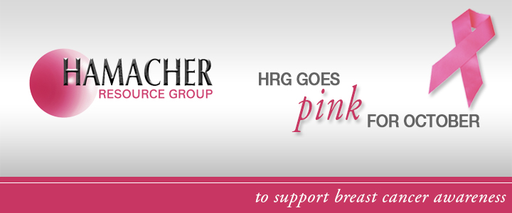 HRG Supports Breast Cancer Awareness Month This October