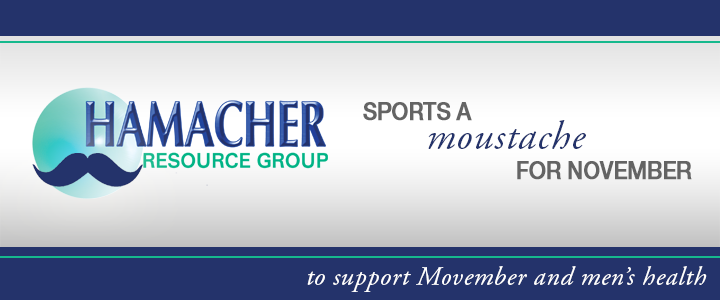 HRG Supports Movember and Men's Health