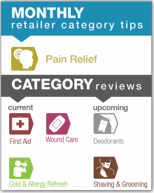 Monthly Retailer Category Tips — November 2017