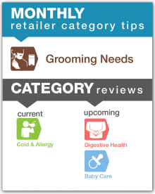Monthly Retailer Category Tips — April 2017