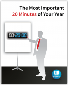 The Most Important 20 Minutes of Your Year E-book
