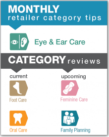 Monthly Retailer Category Tips — January