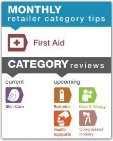 Monthly Retailer Category Tips — March 2018