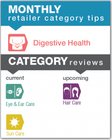 Monthly Retailer Category Tips — September 2018