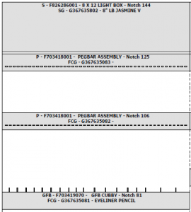 User-friendly fixture planograms | Hamacher Resource Group