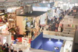 Trade event floor