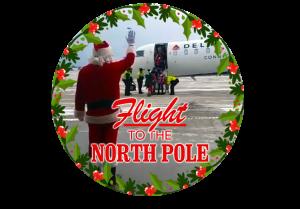 Flight to the North Pole