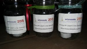 Jars from the Lantern Walk
