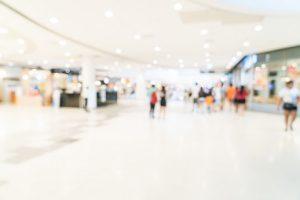 interior of retailer