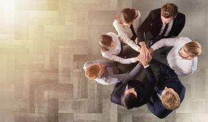 group of people collaborating