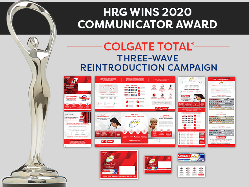 HRG Wins Communicator Award for Colgate Total Multi-wave Direct Mail Campaign